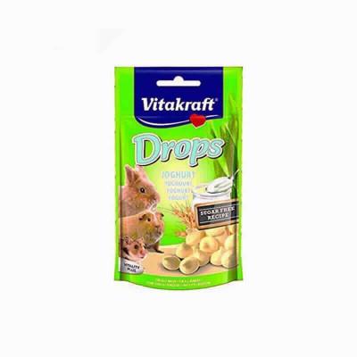 Snack Roed.drops Yogurt 9x75gr