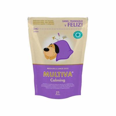 Multiva Calming Perro Med. Y Grande 21 Chews