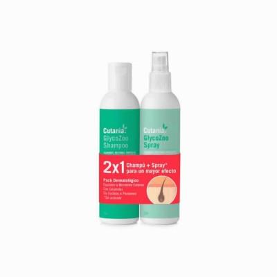 Cutania Glycozoo Pack Champu 355 Ml+spray