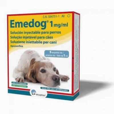 Emedog 1mg/ml 5x1ml