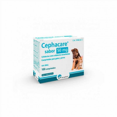 Cephacare 50 Mg 100 Comp