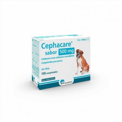 Cephacare 500 Mg 100 Comp