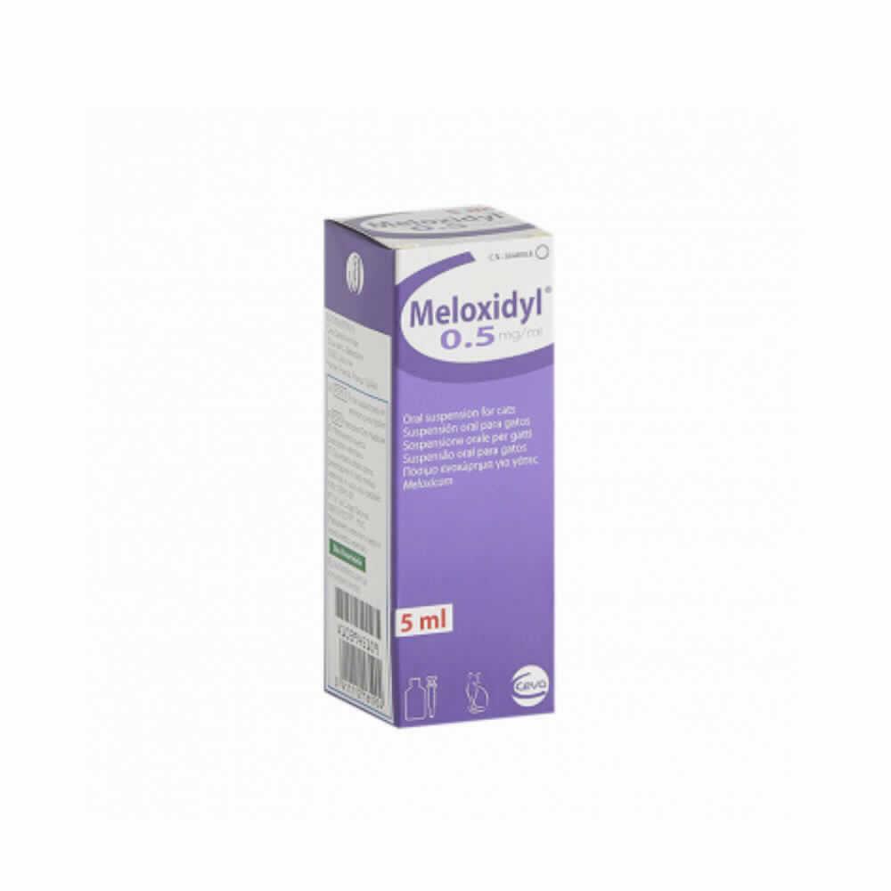 Meloxidyl Gato Oral 5 Ml