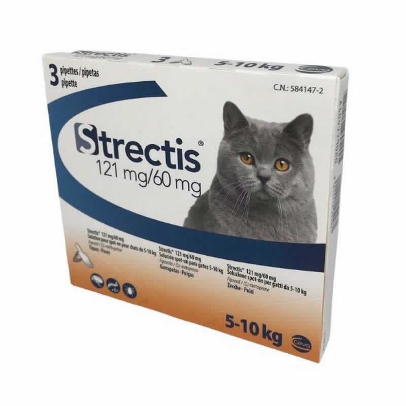 Strectis Gato 5-10 Kg 3 Pip