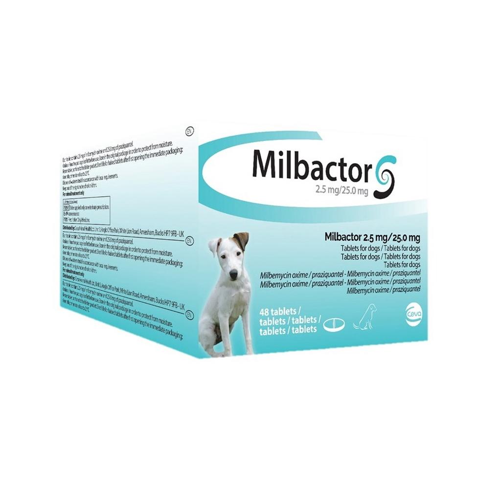 Milbactor Perro Peq - Puppy 48 Comp